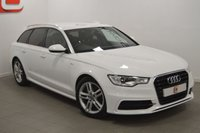 USED 2012 12 AUDI A6 2.0 AVANT TDI S LINE 5d 175 BHP LOW MILES + HISTORY + LEATHER + PRIVACY GLASS + 2 KEYS