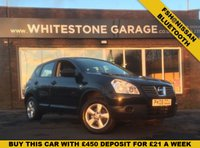 USED 2008 08 NISSAN QASHQAI 1.6 VISIA 5d 113 BHP FULLY DOCUMENTED SERVICE HISTORY FROM NISSAN, BLUETOOTH, AIR CONDITIONING.