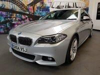 USED 2014 64 BMW 5 SERIES 2.0 520D M SPORT 4d 181 BHP