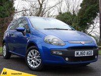 USED 2010 60 FIAT PUNTO EVO 1.4 ACTIVE 3d  **LOW RUNNING COSTS**