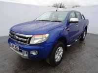 2014 FORD RANGER 2.2 LIMITED 4X4 DCB TDCI 1d AUTO 148 BHP in deep impact blue £15995.00