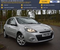 USED 2011 11 RENAULT CLIO 1.1 GT LINE TOMTOM TCE 5d 100 BHP 72,188 MILES, FULL SERVICE HISTORY (TIMING BELT REPLACED AT 59,217 MILES) SAT NAV, CRUISE CONTROL, BLUETOOTH CONNECTIVITY, REAR PARKING SENSORS + MUCH MORE!