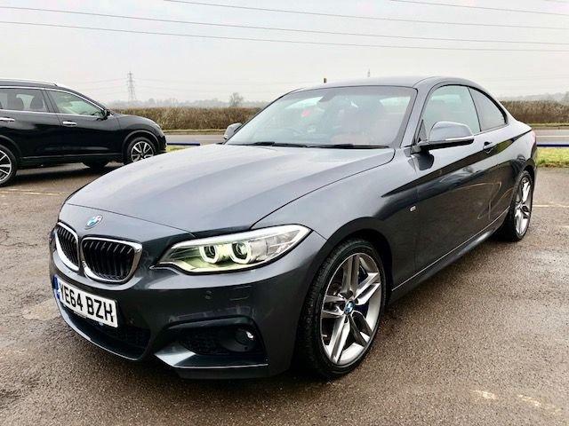 2015 64 BMW 2 SERIES 2.0 220D M SPORT 2d 188 BHP