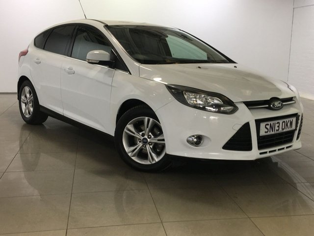 View our 2013 13 FORD FOCUS 1.6 ZETEC 5d AUTO 124 BHP