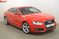 USED 2011 11 AUDI A5 1.8 TFSI S LINE 2d 158 BHP LOW MILES + DRL + HISTORY + LEATHER + 2 KEYS