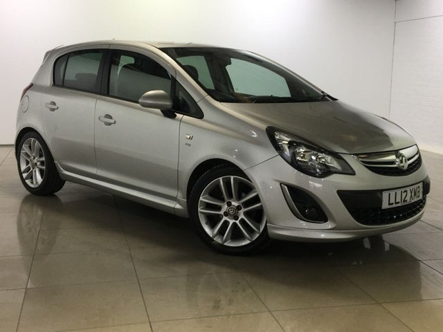 View our 2012 12 VAUXHALL CORSA 1.4 SRI 5d 98 BHP