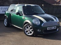 2010 MINI HATCH ONE 1.6 ONE 3d 98 BHP £5795.00