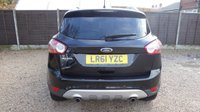 USED 2011 61 FORD KUGA 2.0 TITANIUM TDCI 2WD 5dr Half Leather, PDC, Bluetooth
