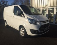USED 2015 65 FORD TRANSIT CUSTOM 2.2 270 LIMITED L1 SWB 124 BHP THIS VEHICLE IS AT SITE 1 - TO VIEW CALL US ON 01903 892224