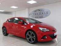 USED 2015 15 VAUXHALL ASTRA  GTC 1.6 T 200 LIMITED EDITION  3d  A Must See - Stunning Condition And Performance