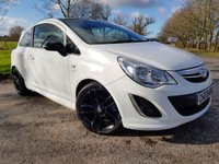 USED 2012 12 VAUXHALL CORSA 1.2 LIMITED EDITION 3d 2 KEYS A/C