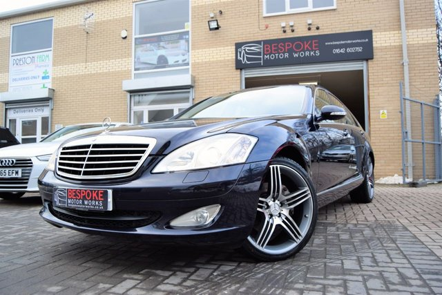 2007 07 MERCEDES-BENZ S CLASS S320 CDI SALOON AUTOMATIC