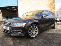2014 AUDI A4 2.0 AVANT TDI QUATTRO SE TECHNIK 5d AUTO 174 BHP £9995.00