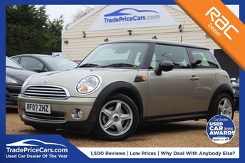 2007 MINI HATCH COOPER 1.6 COOPER 3d 118 BHP £5000.00
