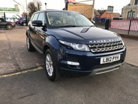 USED 2012 12 LAND ROVER RANGE ROVER EVOQUE 2.2 ED4 PURE 5d 150 BHP Service History-1 Former Keeper-Bluetooth-Leather Heated Seats
