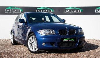 2011 BMW 1 SERIES 2.0 118D M SPORT 5d 141 BHP £6900.00