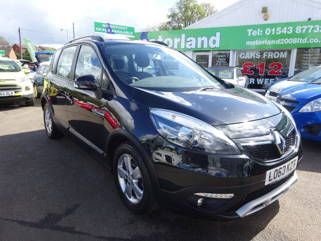 USED 2013 63 RENAULT SCENIC 1.5 XMOD EXPRESSION PLUS DCI 5d 110 BHP 12 MONTHS MOT.. 6 MONTHS WARRANTY... FINANCE AVAILABLE