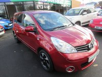 USED 2012 12 NISSAN NOTE 1.4 N-TEC PLUS 5d 88 BHP JUST ARRIVED TEST DRIVE TODAY