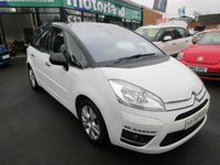 USED 2013 13 CITROEN C4 PICASSO 1.6 PLATINUM HDI 5d 110 BHP 12 MONTHS MOT.. 6 MONTHS WARRANTY... FINANCE AVAILABLE