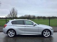 2013 BMW 1 SERIES 2.0 118D M SPORT 5d AUTO 141 BHP £10495.00