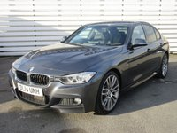 USED 2014 14 BMW 3 SERIES 3.0 330D M SPORT 4d 255 BHP