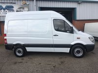 USED 2012 12 MERCEDES-BENZ SPRINTER CDI SWB MEDIUM ROOF 3.5 TON IDEAL CAMPER OR DAY VAN RARE SWB 1 OWNER