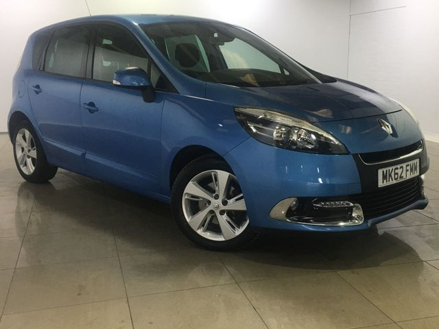 View our 2012 62 RENAULT SCENIC 1.5 DYNAMIQUE TOMTOM DCI 5d 110 BHP