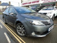USED 2012 12 TOYOTA AVENSIS 2.0 TR D-4D 4d 124 BHP