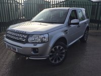 2012 LAND ROVER FREELANDER 2 2.2 SD4 HSE 5d AUTO 190 BHP PAN ROOF SAT NAV LEATHER PRIVACY 19 ALLOYS £14790.00