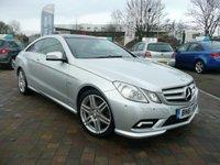 2011 MERCEDES-BENZ E CLASS 2.1 E250 CDI BLUEEFFICIENCY SPORT 2d AUTO 204 BHP £11999.00