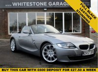 USED 2007 57 BMW Z4 2.0 Z4 SPORT ROADSTER 2d 148 BHP FSH, LEATHER M-SPORT SEATS, 18INCH ALLOYS WITH RECENT NEW MATCHING BRIDGESTONE TYRES, WIND DEFLECTOR, 2 KEYS