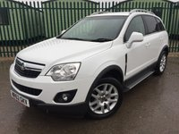 2013 VAUXHALL ANTARA 2.2 EXCLUSIV CDTI 4WD 5d AUTO 161 BHP SAT NAV LEATHER SIDE STEPS FSH £9490.00