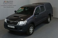 USED 2013 63 TOYOTA HI-LUX 2.5 HL2 4X4 D-4D DCB 5d 142 BHP MWB A/C POWER WINDOWS AND MIRRORS ONE OWNER FROM NEW