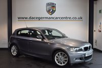 USED 2010 10 BMW 1 SERIES 2.0 118D M SPORT 5DR 141 BHP + EXCELLENT SERVICE HISTORY +  SPORT SEATS + LIGHT PACKAGE + AUTO AIR CONDITIONING + PARKING SENSORS + 16 INCH ALLOY WHEELS +