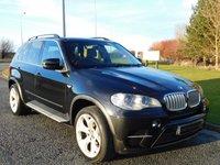 USED 2010 10 BMW X5 3.0 XDRIVE40D SE 5d AUTO 302 BHP 7 SEATS, Y-SPOKE ALLOYS, BMWSH