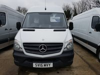 2015 MERCEDES-BENZ SPRINTER 2.1 313 CDI LWB 1d 129 BHP £SOLD