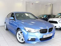 2013 BMW 3 SERIES GRAN TURISMO 320D M SPORT GRAN TURISMO AUTO 5d £15485.00