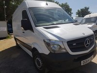 USED 2014 64 MERCEDES-BENZ SPRINTER 2.1 313 CDI MWB 1d 129 BHP FRONT GRILL BEACONS