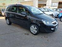 2011 VAUXHALL ZAFIRA 1.7 EXCLUSIV CDTI ECOFLEX 5d 108 BHP £3995.00