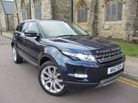 2012 LAND ROVER RANGE ROVER EVOQUE 2.2 SD4 PURE TECH 5d AUTO 190 BHP £16495.00