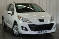 USED 2012 12 PEUGEOT 207 1.4 ACCESS 3d 74 BHP