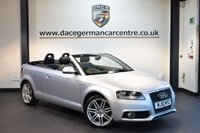 USED 2010 10 AUDI A3 1.6 TDI S LINE 2DR 103 BHP + FULL SERVICE HISTORY +  AIR CONDITIONING + ELECTIC WING MIRRORS + ALLOY WHEELS + LOW MILES +