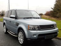 USED 2011 61 LAND ROVER RANGE ROVER SPORT 3.0 TDV6 HSE 5d AUTO 245 BHP LEATHER, TV, SAT NAV, DAB RADIO