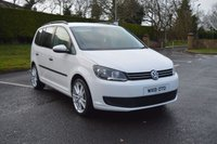 2013 VOLKSWAGEN TOURAN 1.6 TDI BLUEMOTION 7SEATER *****NOW SOLD-BUT 2014 COMING THIS WEEK**** £8895.00