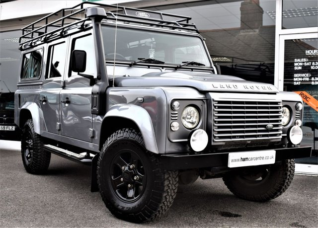 2011 11 LAND ROVER DEFENDER 2.4 110 TD XS COUNTY STATION WAGON 7 SEATER 4X4 AIR-CON HALF LEATHER