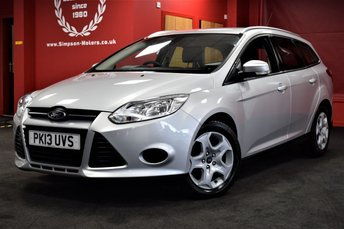 2013 FORD FOCUS 1.6 EDGE ECONETIC TDCI 5d 104 BHP £5995.00