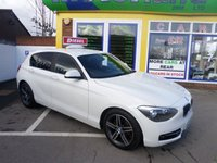 USED 2013 63 BMW 1 SERIES 2.0 116D SPORT 5d 114 BHP JUST ARRIVED LOW TAX DIESEL