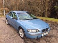 2004 VOLVO S60 2.5 T SE 4d 207 BHP £499.00