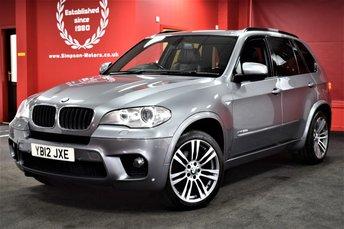 2012 BMW X5 3.0 XDRIVE30D M SPORT 5d AUTO 241 BHP 7 SEATER £21995.00