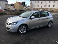 USED 2015 15 PEUGEOT 308 1.6 HDI ACTIVE 5d 92 BHP Latest Engine with ZERO Road Tax